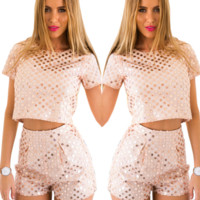 Clementine Sequin Two-Piece Set