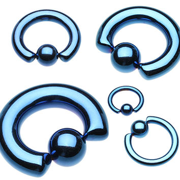 Colorline PVD 316L Surgical Steel Captive Bead Ring