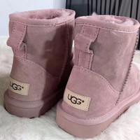 Ugg Women Fashion Wool Snow Boots-22