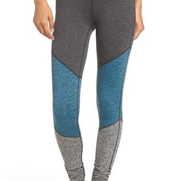 Free People 'Intuition' High Waist Colorblock Leggings | Nordstrom