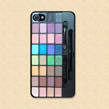 Makeup Iphone Case 4 case cool awesome makeup palette Iphone 4s case