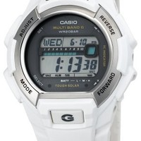 Casio Men's GWM850-7CR G-Shock Solar Atomic White Watch