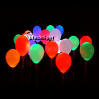 MKB25PKSLD - Blacklight Reactive Neon Balloons - Pack of 25 Solid Color