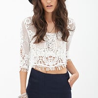 FOREVER 21 Classic Tweed Shorts Navy