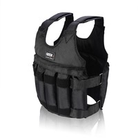 20 50Kg Max Loading Weighted Vest Boxing Training Thickening Exercise Waistcoat Durable Adjustable Weight Jacket Invisible Sand