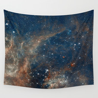 Space 05 Wall Tapestry by Aloke Design