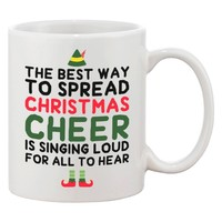 Cute Holiday Coffee Mug - The Best Way to Spread Christmas Cheer