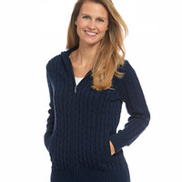 Women's Double L Cotton Sweater, Zip-Front Hoodie | Free Shipping at L.L.Bean