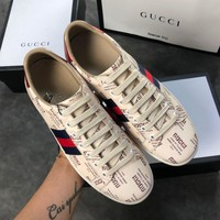 Gucci Ace Print Low-top Sneaker