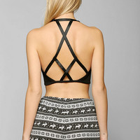 Out From Under Nite Out Caged Bra Top
