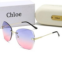 Chloe Fashion Women Men Classic Sun Shades Eyeglasses Glasses Sunglasses