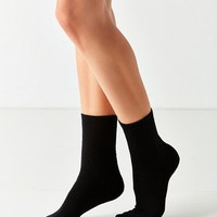 Out From Under Cozy Flat Knit Crew Sock | Urban Outfitters