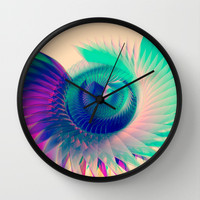 Abstract Wing Wall Clock by Msimioni