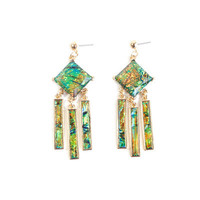 Fashion Stylish Classy Best Gift for Lovers Birthday Anniversary Valentines Christmas  Summer Colourful Earrings  _ 8551