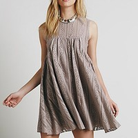 Free People Womens Tu-es-la Mini Dress