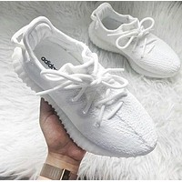 Adidas Women Men Yeezy 350 V2 Boost Trending Girl Boy Personality Leisure Sport Running Shoe Sneakers - -2