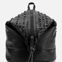 Deena & Ozzy Studded Vegan Leather Convertible Backpack - Urban Outfitters