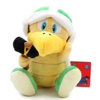 "Little Buddy Official Super Mario Plush 7"" Hammer Bros"