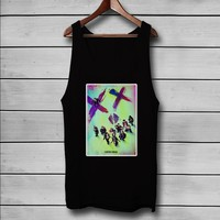 Suicide Squad Movie Custom Tank Top T-Shirt Men and Woman