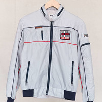 Vintage FILA Grey Bomber Jacket - Urban Outfitters