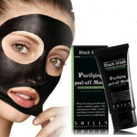 Deep Purifying Blackhead Remover Peel-Off Cleansing Facial Black Mud Mask Gift