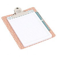 Raindrops magnetic clipboard list set - Paperchase