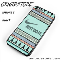 Nike Vintage Aztec For Iphone 5 Iphone 5S Case UY