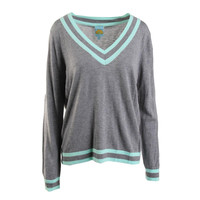 C & C California Womens Wool Blend Knit Pullover Sweater