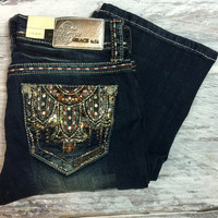 GRACE IN L.A. MOJAVE BOOTCUT JEANS