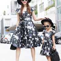 Mommy & Me Matching European style dress