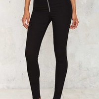 Cheap Monday High Spray Jeans - Front Black