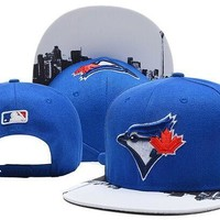 Perfect MLB Toronto Blue Jays Snapback hats Women Men Embroidery Sports Sun Hat Baseball Cap Hat