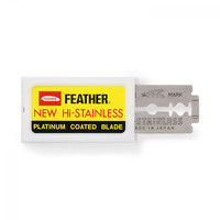 Feather Hi-Stainless Platinum Coated Blades