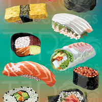 Sushi Collection - Clip Art
