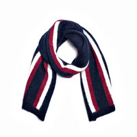 TOMMY HILFIGER Striped Mohair Scarf