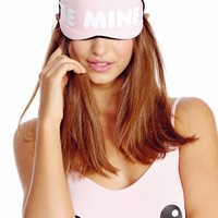 Wildfox Couture Be Mine Eye Mask in Pink