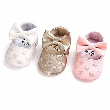 born Baby Boy Girl Baby First Walkers Soft Ballet Shoes Soft Soled