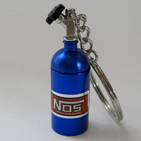 NOS Bottle Keychain