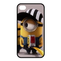 The New Style For Despicable Me For IPhone 4/4s Rubber Cover Case