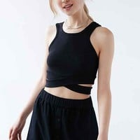 Cheap Monday Material Cross-Front Tank Top
