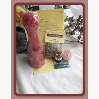 Black Cat  Love Candle Spell