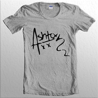 Ash XX Ashton XX 5SOS 5 Second Of Summer Women Tshirt