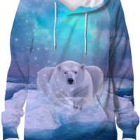 Power Is No Blessing In Itself (Protect the Polar Bear) Unisex Hoodie Sweatshirt created by soaringanchordesigns | Print All Over Me