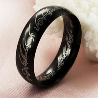 Stylish Gift Shiny New Arrival Men Titanium Jewelry Ring [10783260291]