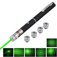 High Quality Green Laser Pointer Constant Wave 5mW 532nm Burning Lazer Zoomable Visible Beam Pointer Pen With Star Cap