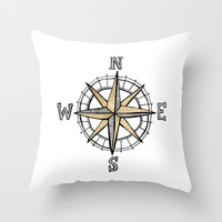 North Throw Pillow by Tangerine-Tane