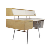Custom Home Office Desk by George Nelson