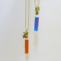 Health and Mana - friendship necklaces - 2 vials