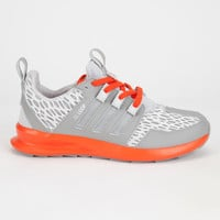 Adidas Originals Sl Loop Runner Mens Shoes Charcoal Solid Grey/Silver Metallic/Collegiate Ora  In Sizes