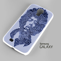 Jimi Hendrix Song Titles Collage Samsung Galaxy S3 S4 S5 Note 3 Cases - Galaxy